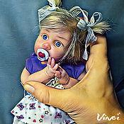 Куклы и игрушки ручной работы. Ярмарка Мастеров - ручная работа Силиконовая кукла Лера. Handmade.
