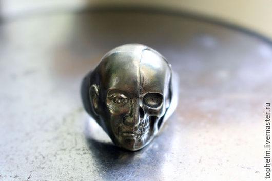 """Кольца ручной работы. Ярмарка Мастеров - ручная работа. Купить Кольцо """"Непостоянство"""". Handmade. Серебряное кольцо, смерть, япония, бронза"""