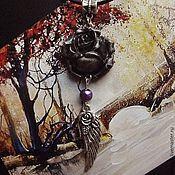 Украшения ручной работы. Ярмарка Мастеров - ручная работа Кулон Роза. Handmade.