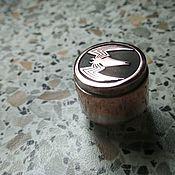 Услуги ручной работы. Ярмарка Мастеров - ручная работа Лазерная гравировка на кнопке Вэйпа из латуни. Handmade.
