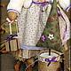 Куклы Тильды ручной работы. Овечка с подарками. Символ 2015г.. Надежда Першина. Ярмарка Мастеров. Ёлочка в горшочке, текстильная кукла