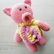 Куклы и игрушки handmade. Livemaster - original item Plush pig