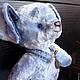 Мишки Тедди ручной работы. ФИЛЯ, очень смелый щенок, тедди  пес. Куклы КАШЕМИР / СashMere. Интернет-магазин Ярмарка Мастеров.