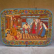 Русский стиль handmade. Livemaster - original item The box is bast of the old