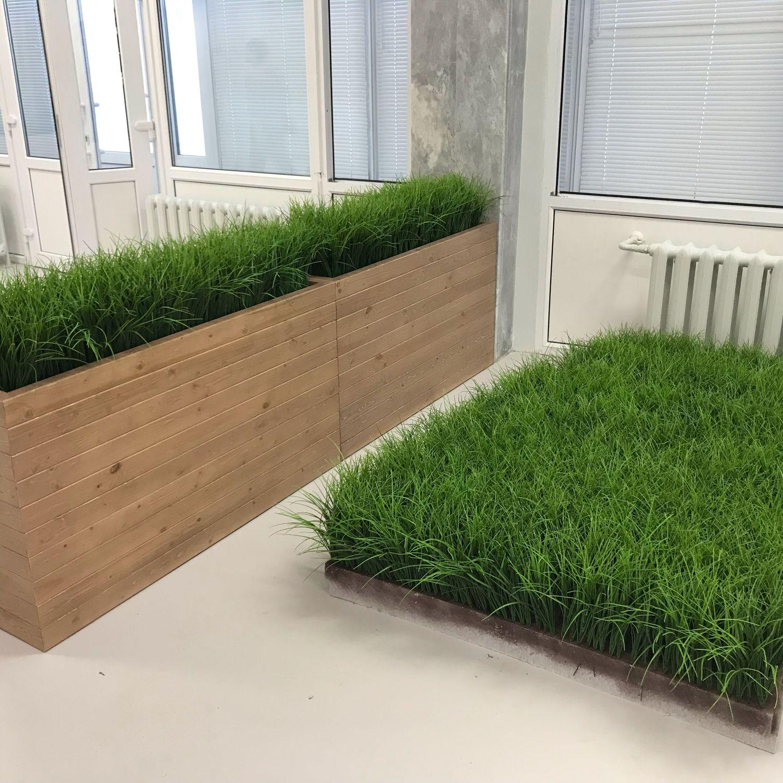 grass artificial, Design, Belgorod,  Фото №1