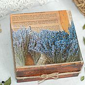 Для дома и интерьера handmade. Livemaster - original item Box Recipes of old France. Handmade.