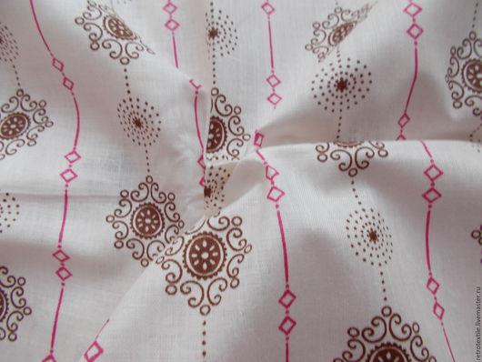 Шитье ручной работы. Ярмарка Мастеров - ручная работа. Купить отрез 80х500 ткань ситец белоземельный. Handmade. Комбинированный