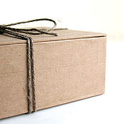 """Сувениры и подарки ручной работы. Ярмарка Мастеров - ручная работа Короб """"плоская крышка + дно"""". Handmade."""