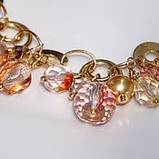 Украшения handmade. Livemaster - original item Decoration transformer. Delicate choker necklace Bracelet with pendants. Handmade.