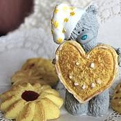 """Косметика ручной работы. Ярмарка Мастеров - ручная работа Мыло """"Тедди с печеньем"""". Handmade."""