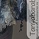 """Жилеты ручной работы. Жилет-палантин """" Silver"""". Татьяна Барабанщикова (tanyabarab). Ярмарка Мастеров. Авторская работа, серый"""