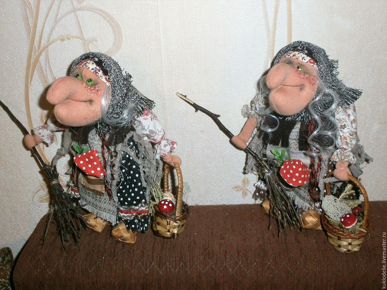 Фотоотчёт дедушка мороз и бабулька-ягулька