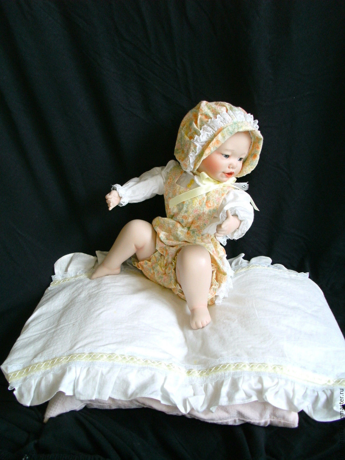Collectible porcelain doll Lisa from Yolanda's Bello (IV), Dolls, Kempten,  Фото №1