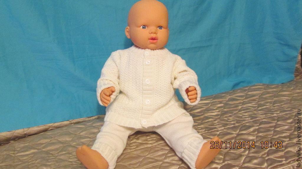 Купить вязанный костюм для малышей - костюм для ...
