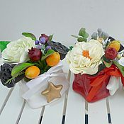 Подарки к праздникам ручной работы. Ярмарка Мастеров - ручная работа Сумка с цветами и ягодами. Handmade.