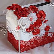 Свадебный салон ручной работы. Ярмарка Мастеров - ручная работа Свадебный сундучок, цвет в ассортименте. Handmade.