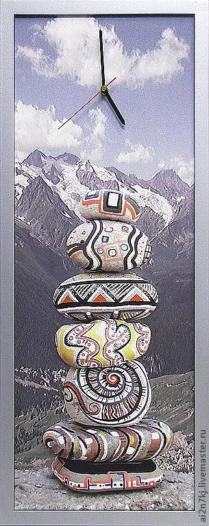 """Часы для дома ручной работы. Ярмарка Мастеров - ручная работа. Купить """"ШАМБАЛА"""" из песка часы авторские. Handmade. Медитация, песок"""
