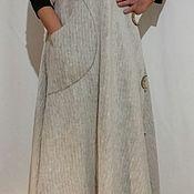 Одежда ручной работы. Ярмарка Мастеров - ручная работа Сарафан шерстяной макси. Handmade.