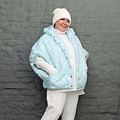 Одежда handmade. Livemaster - original item The little quilted padding polyester mint. Art. 1244. Handmade.