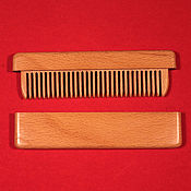 Сувениры и подарки handmade. Livemaster - original item Copy of Comb in the case of mahogany and burl walnut. Handmade.