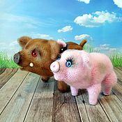 Куклы и игрушки handmade. Livemaster - original item Pigs. Handmade.