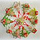Человечки ручной работы. Елочка текстильная новогодняя, игрушка на елку, сувенир. ЛуКс:)) Кукольное счастье! (Ксения). Интернет-магазин Ярмарка Мастеров.