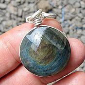 Украшения handmade. Livemaster - original item obsidian pendant obsidian necklace gemstone jewelry. Handmade.