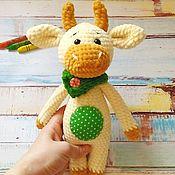 Куклы и игрушки ручной работы. Ярмарка Мастеров - ручная работа Бык Мякиш. Handmade.