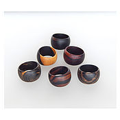 Украшения handmade. Livemaster - original item Wooden rings ( optional ). Handmade.