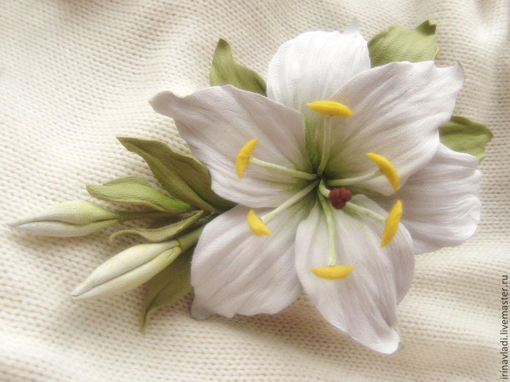 Украшения лилии своими руками