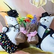 Куклы и игрушки ручной работы. Ярмарка Мастеров - ручная работа Летающие коты. Handmade.