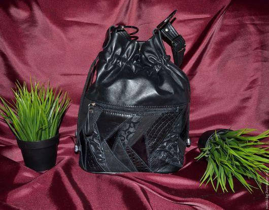 Женские сумки ручной работы. Ярмарка Мастеров - ручная работа. Купить Модель 326. Handmade. Женская сумка, сумочка из кожи