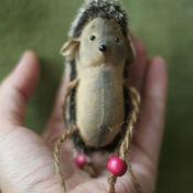 Куклы и игрушки ручной работы. Ярмарка Мастеров - ручная работа ёжик. Handmade.