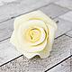Заколки ручной работы. Шпильки с розами (средние) - Айвори кремовый. Tanya Flower. Ярмарка Мастеров. Цветы в волосы, заколка для волос