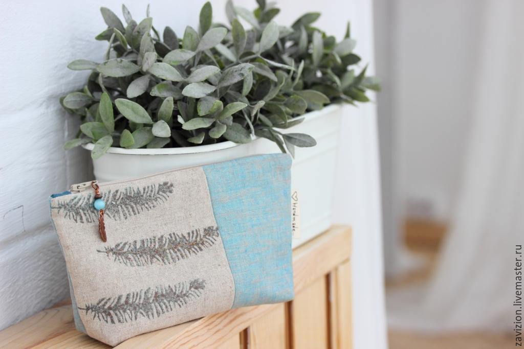 Cosmetic bag handmade. womens cosmetic bag. Cosmetic bag to buy. Online shop Fair Masters. Cosmetic bag