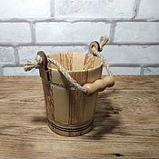 Посуда handmade. Livemaster - original item Wooden beer Mug made of solid wood