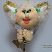 Куклы и игрушки ручной работы. Ярмарка Мастеров - ручная работа Ангелочек толстопопый. Handmade.