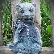 Куклы и игрушки ручной работы. Ярмарка Мастеров - ручная работа Маруся, или жила-была одна кошка... Винтаж.. Handmade.