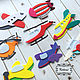 Order Cutting out of felt 'Flying transport'. kidomi (kidomi). Livemaster. . Creator\\\\\\\'s Kit Фото №3