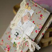 Подарки к праздникам ручной работы. Ярмарка Мастеров - ручная работа Блокнот Рукодельницы. Handmade.