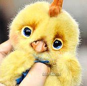 Куклы и игрушки ручной работы. Ярмарка Мастеров - ручная работа Цыпленок.  Авторская коллекционная игрушка цыпленок курочка петушок. Handmade.