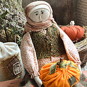 Народная кукла ручной работы. Ярмарка Мастеров - ручная работа Лукерья.. Handmade.