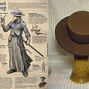 """Аксессуары ручной работы. Ярмарка Мастеров - ручная работа шляпа """"для Чумного Доктора"""". Handmade."""