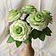Цветы ручной работы. Розы из полимерной глины. ~~~Евгения~~~. Интернет-магазин Ярмарка Мастеров. Роза, искусственные цветы, полимерная глина