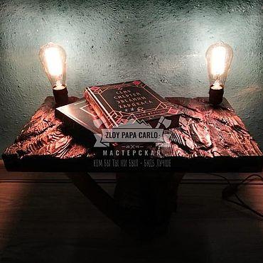 Мебель ручной работы. Ярмарка Мастеров - ручная работа Полка для книг, цветов. Handmade.