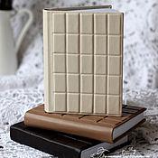 "Канцелярские товары ручной работы. Ярмарка Мастеров - ручная работа Блокноты ""3 шоколада"". Handmade."