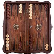 Активный отдых и развлечения handmade. Livemaster - original item #Backgammon-checkers gift