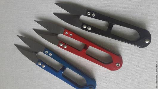 Шитье ручной работы. Ярмарка Мастеров - ручная работа. Купить Ножницы для рукоделия. Handmade. Разноцветный, Ножнички, резак, рабочий инструмент