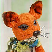 Куклы и игрушки ручной работы. Ярмарка Мастеров - ручная работа Дежурный По Апрелю тедди лис. Handmade.