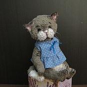 Куклы и игрушки ручной работы. Ярмарка Мастеров - ручная работа Киска Тася)) 14 см. Handmade.